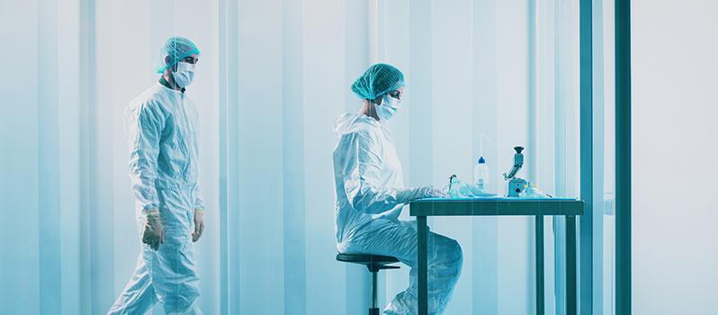 Cleanroom verpakken van medische consumables