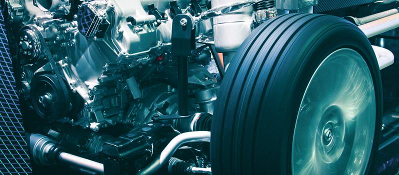 Hybride waterstofcel motor in actie