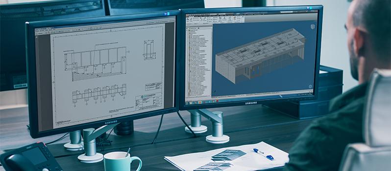 Ontwerpen van cleanroom met 3D software