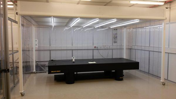Softwall cleanroom voor EUV onderzoek