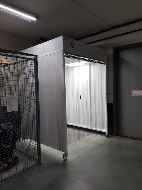Mobiele Softwall Cleanroom