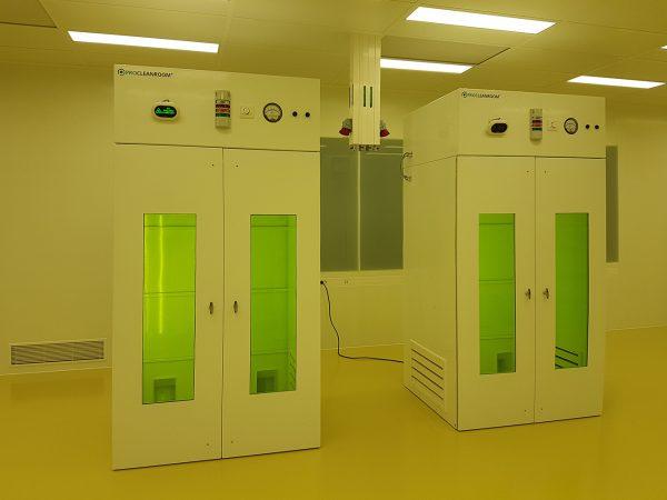 Laser safe enclosure